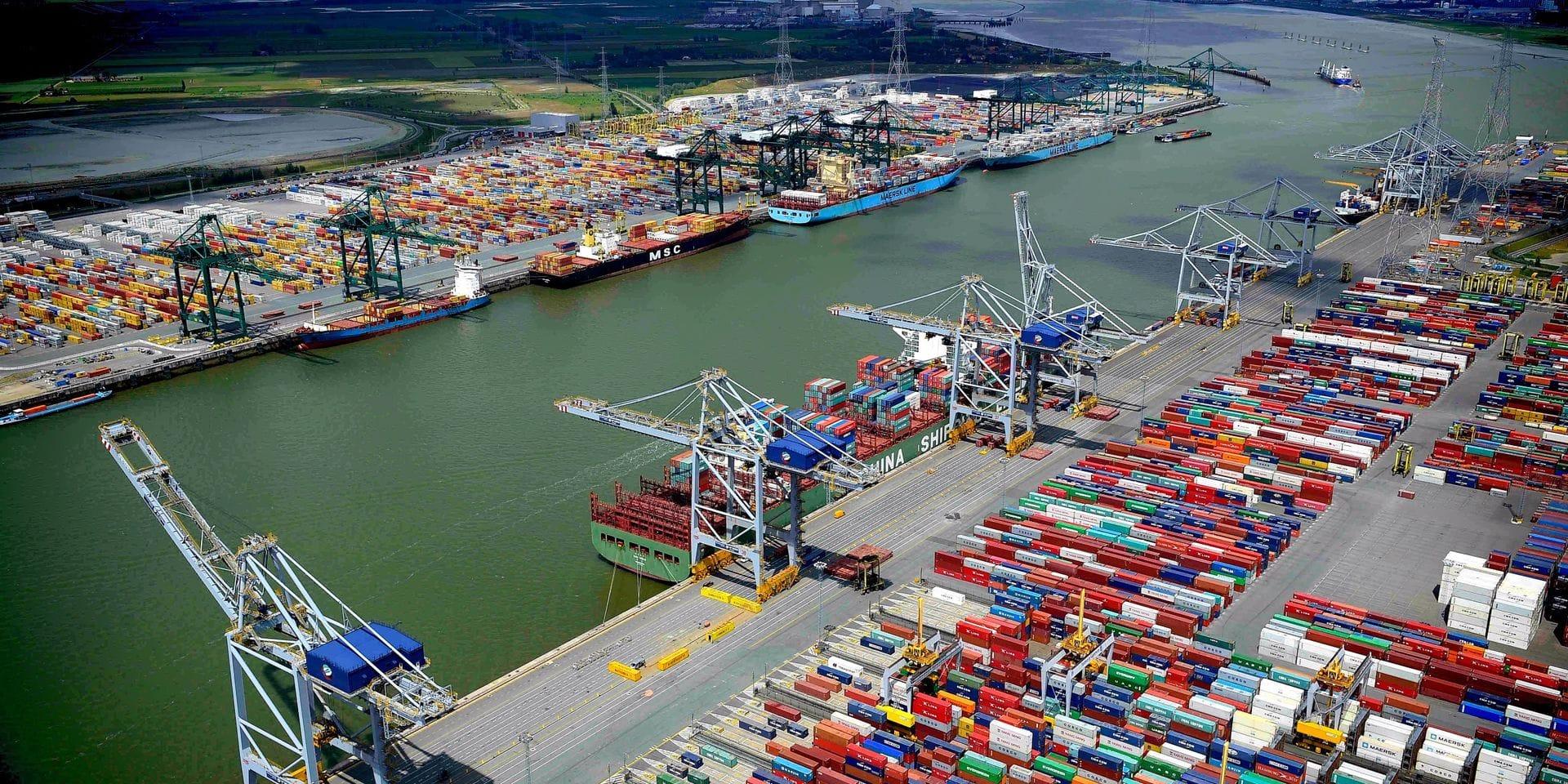 Dans les coulisses du port d'Anvers, ce poumon économique