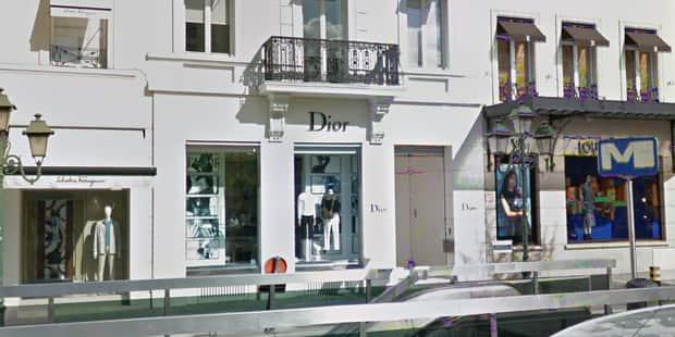 Attaque chez Dior à Bruxelles: les auteurs en fuite - La Libre