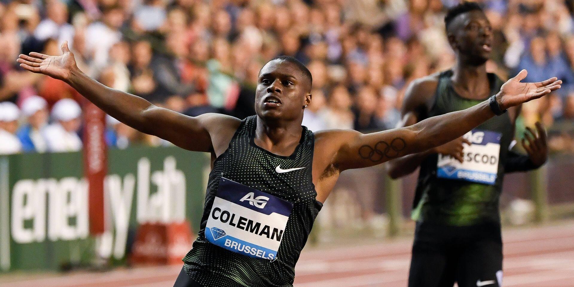 Coup de tonnerre : le champion du monde du 100m Christian Coleman est suspendu deux ans !