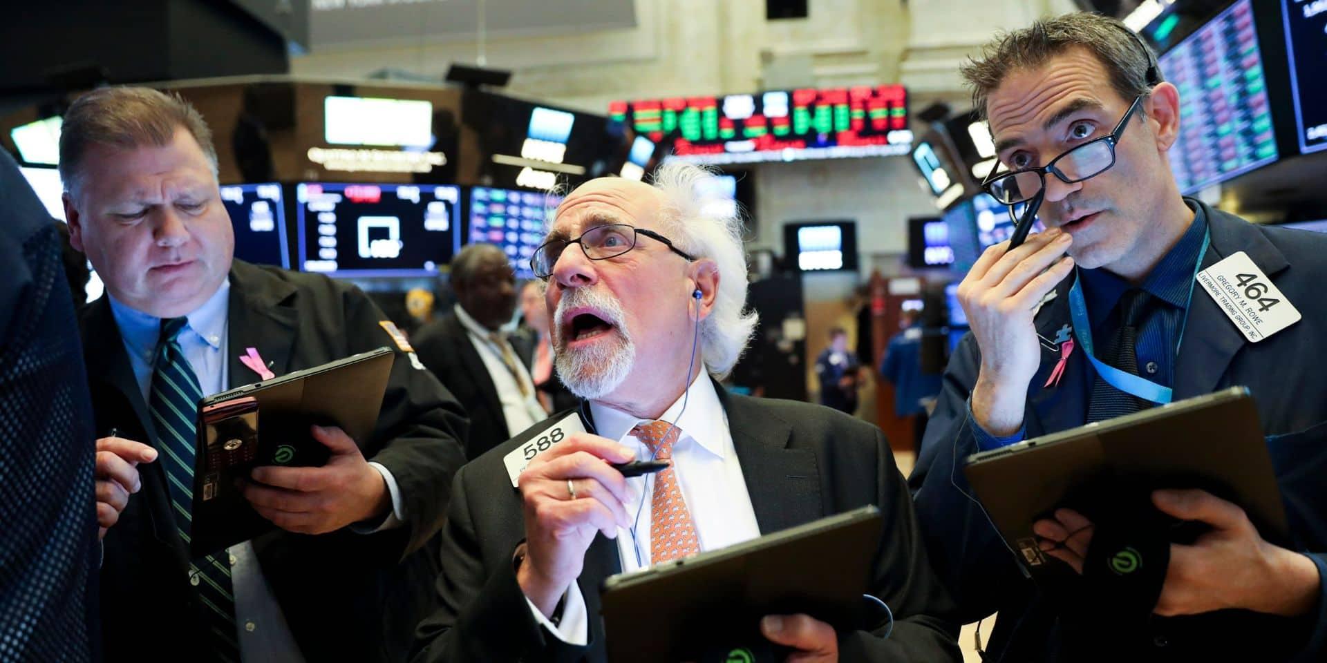 Wall Street rassurée par les négociations entre la Chine et les Etats-Unis