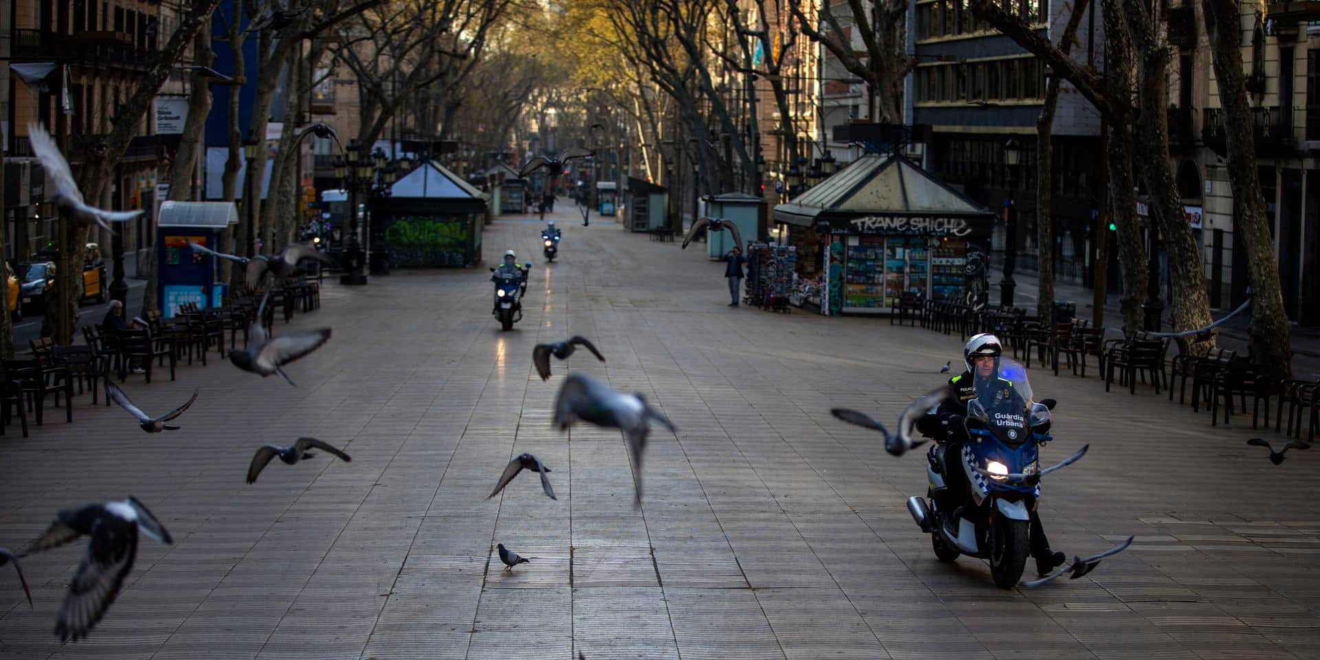 Espagne: l'état d'alerte est entré officiellement en vigueur