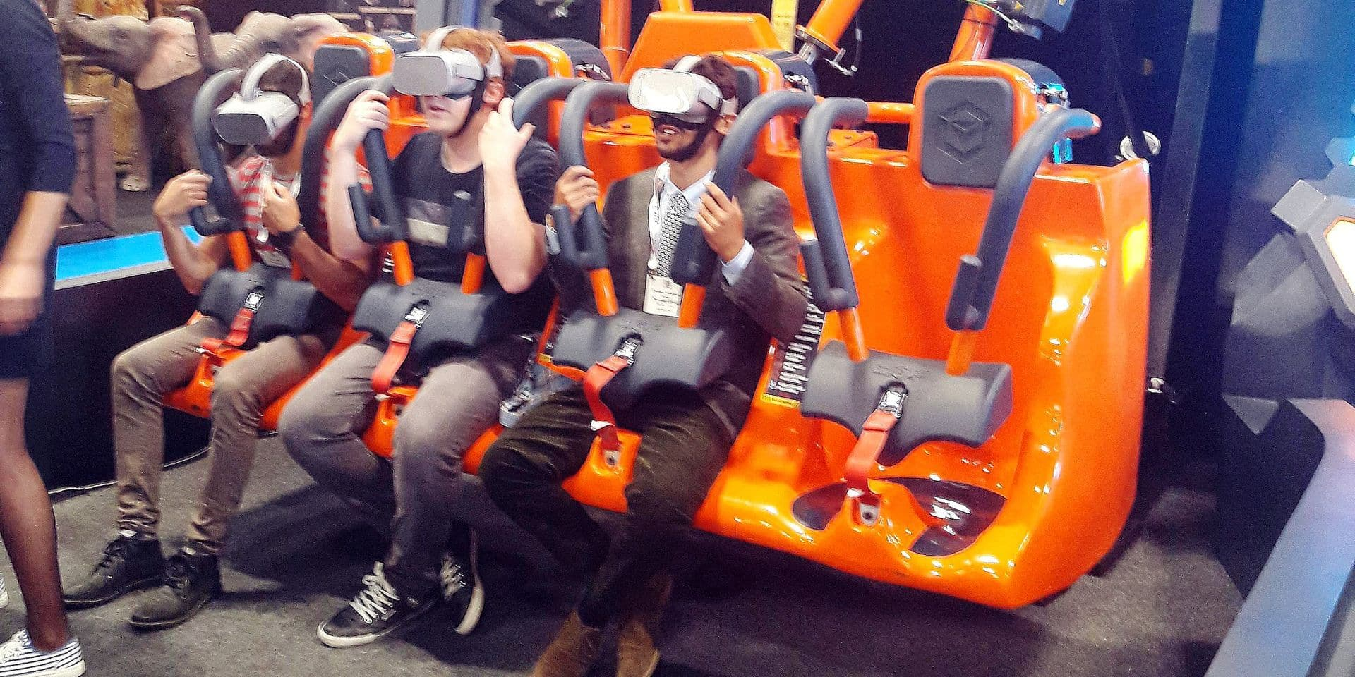 La réalité virtuelle, l'avenir des parcs d'attractions