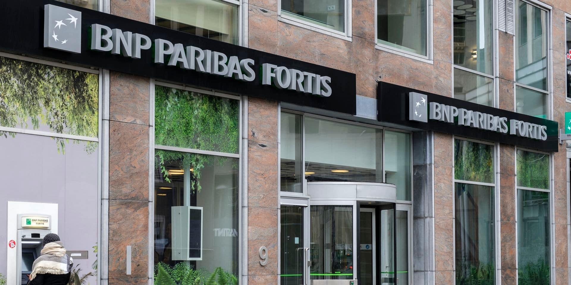 BNP Paribas améliore son bénéfice mais fermera 229 agences en Belgique