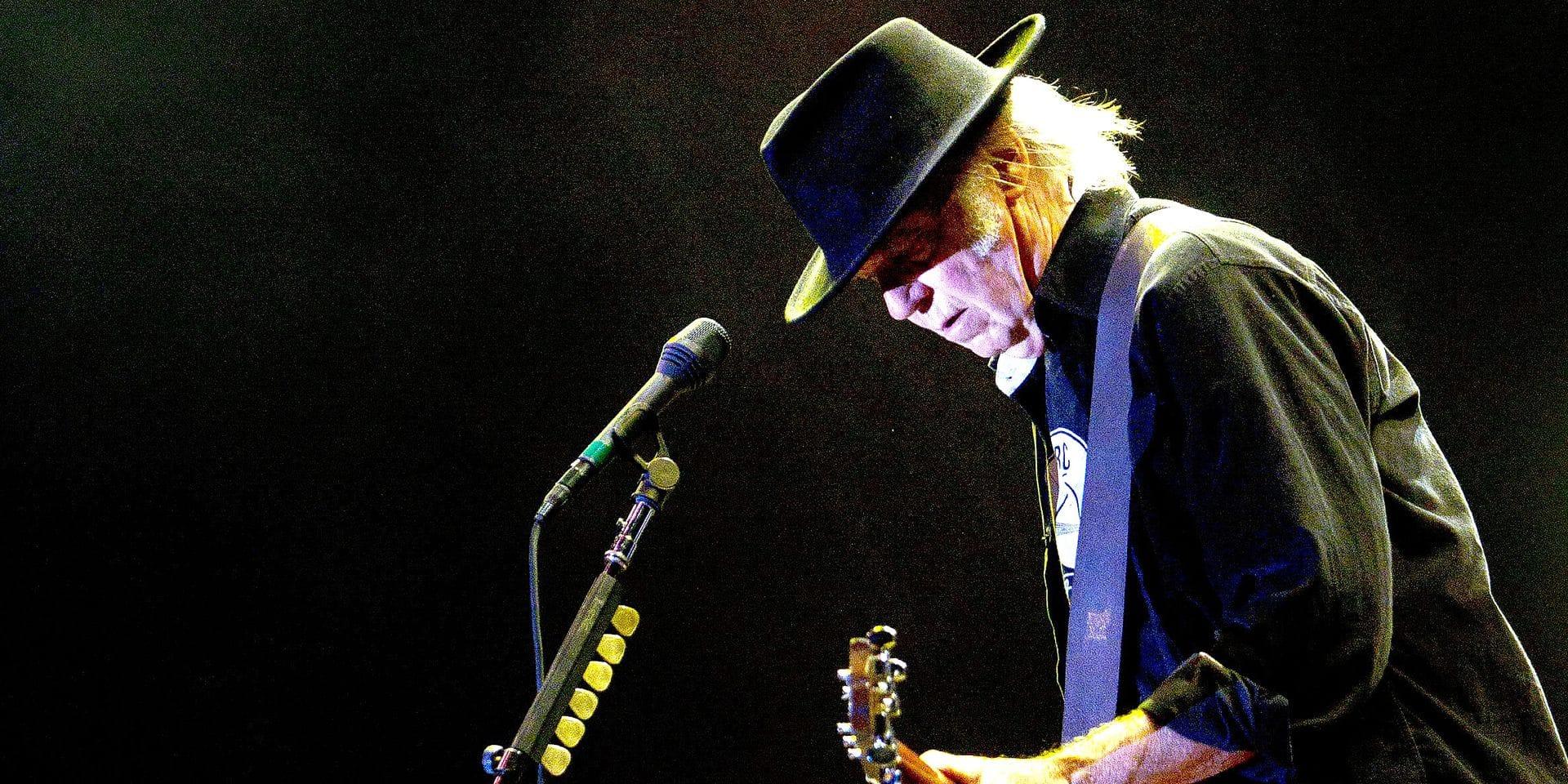 Neil Young, l'écorché vif