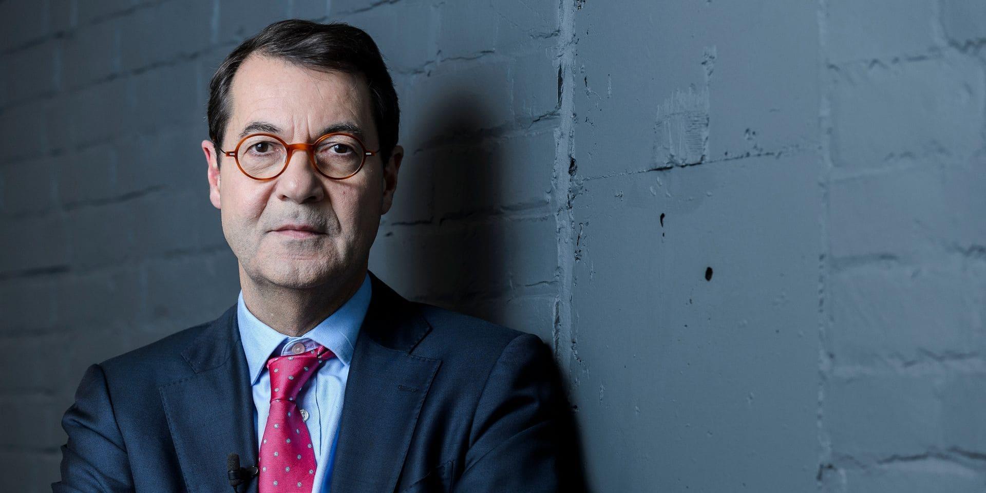 """Bruno Colmant, le nouveau CEO de Degroof Petercam, sera """"plus discret"""" sur les réseaux sociaux"""