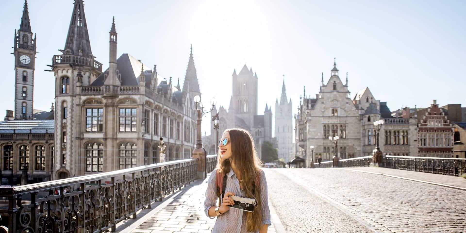 La Flandre a attiré deux fois moins de touristes l'année dernière