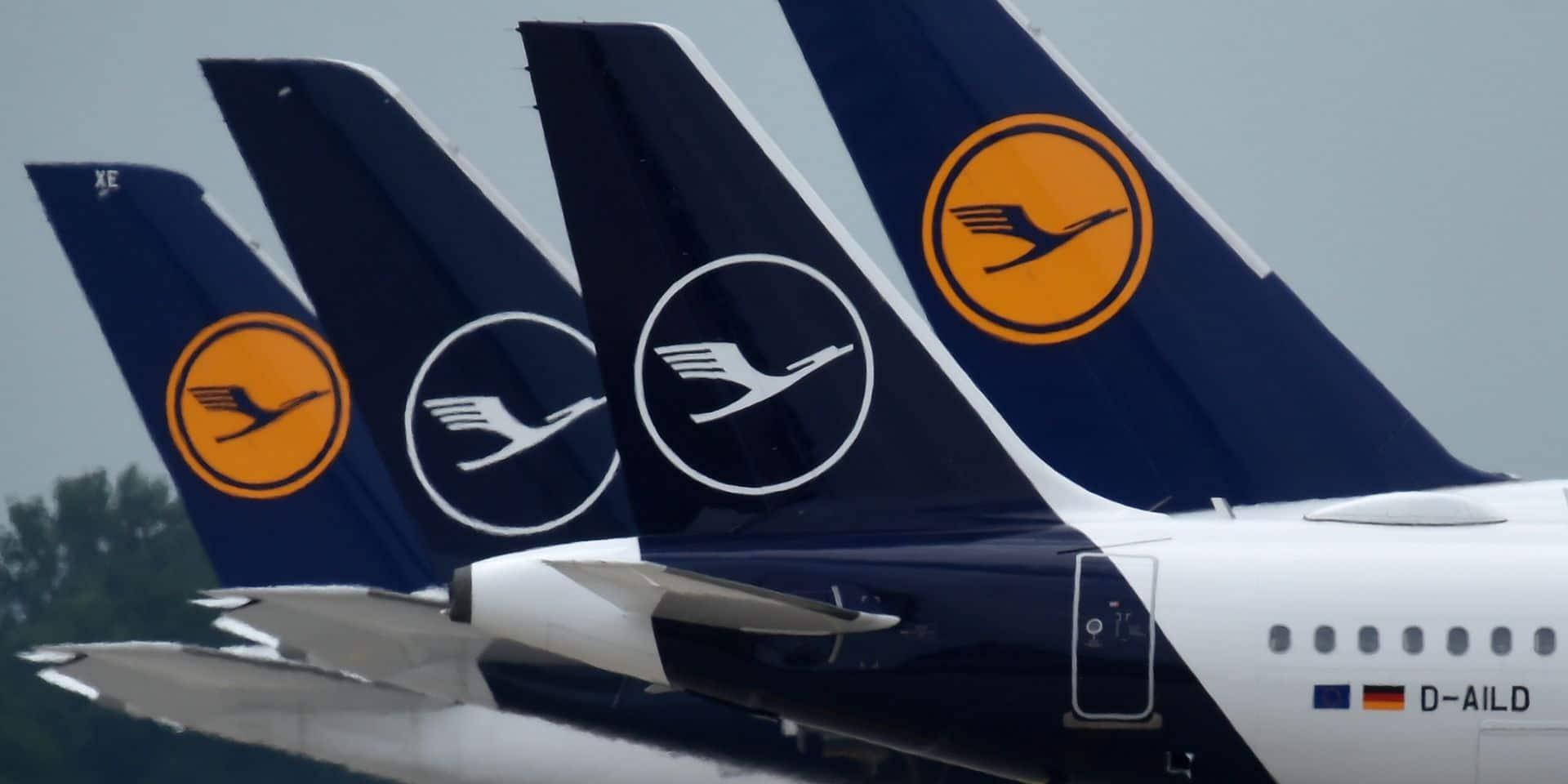Pilotes de Lufthansa: pas de licenciements secs avant avril 2021
