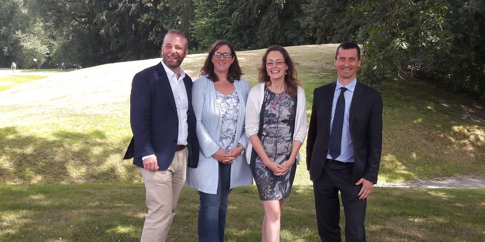 Benjamin Goest et Olivier Vanham, têtes de liste du CDH en Brabant wallon