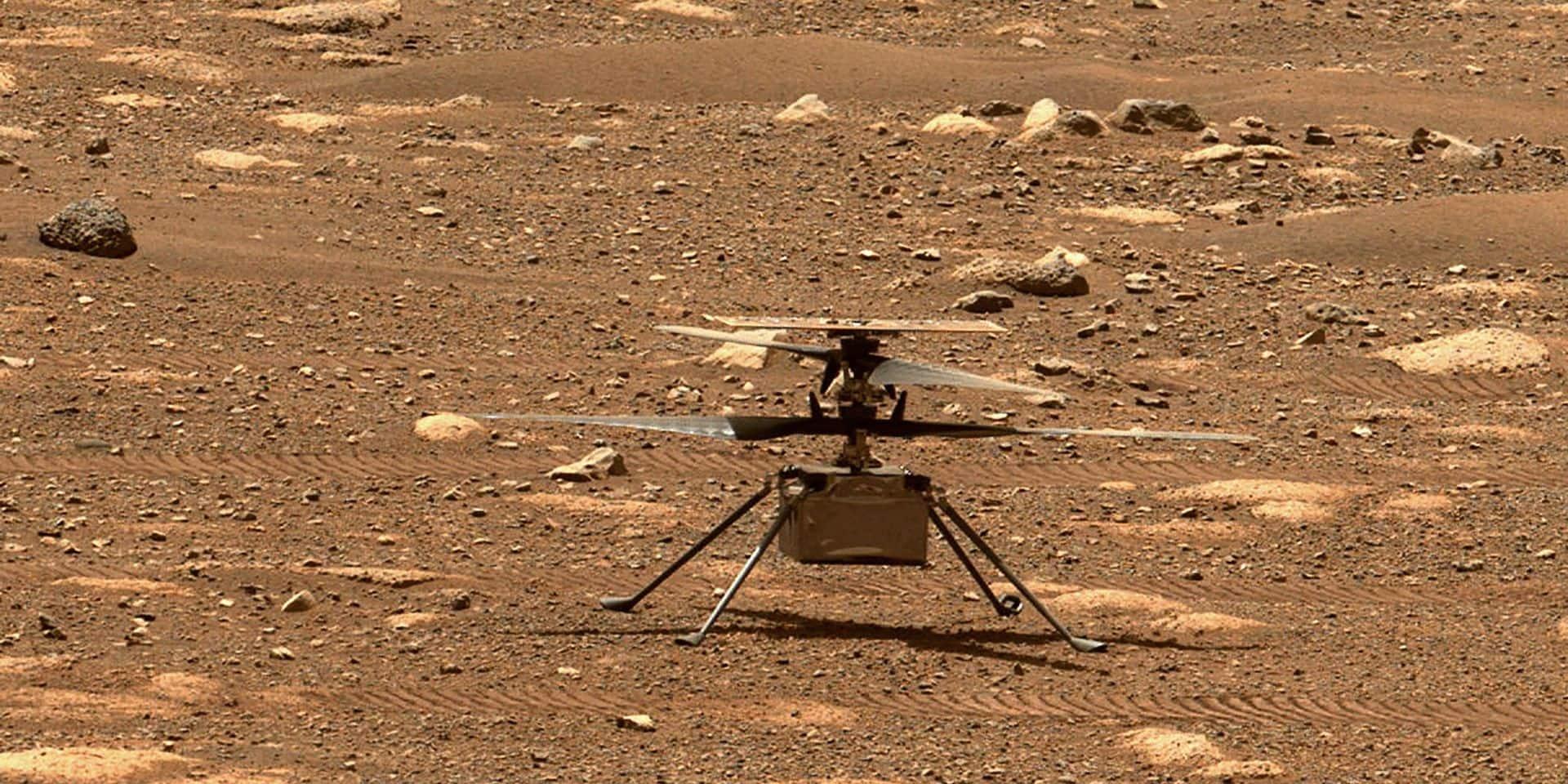 L'hélicoptère Ingenuity de la Nasa pourrait voler sur Mars ce lundi