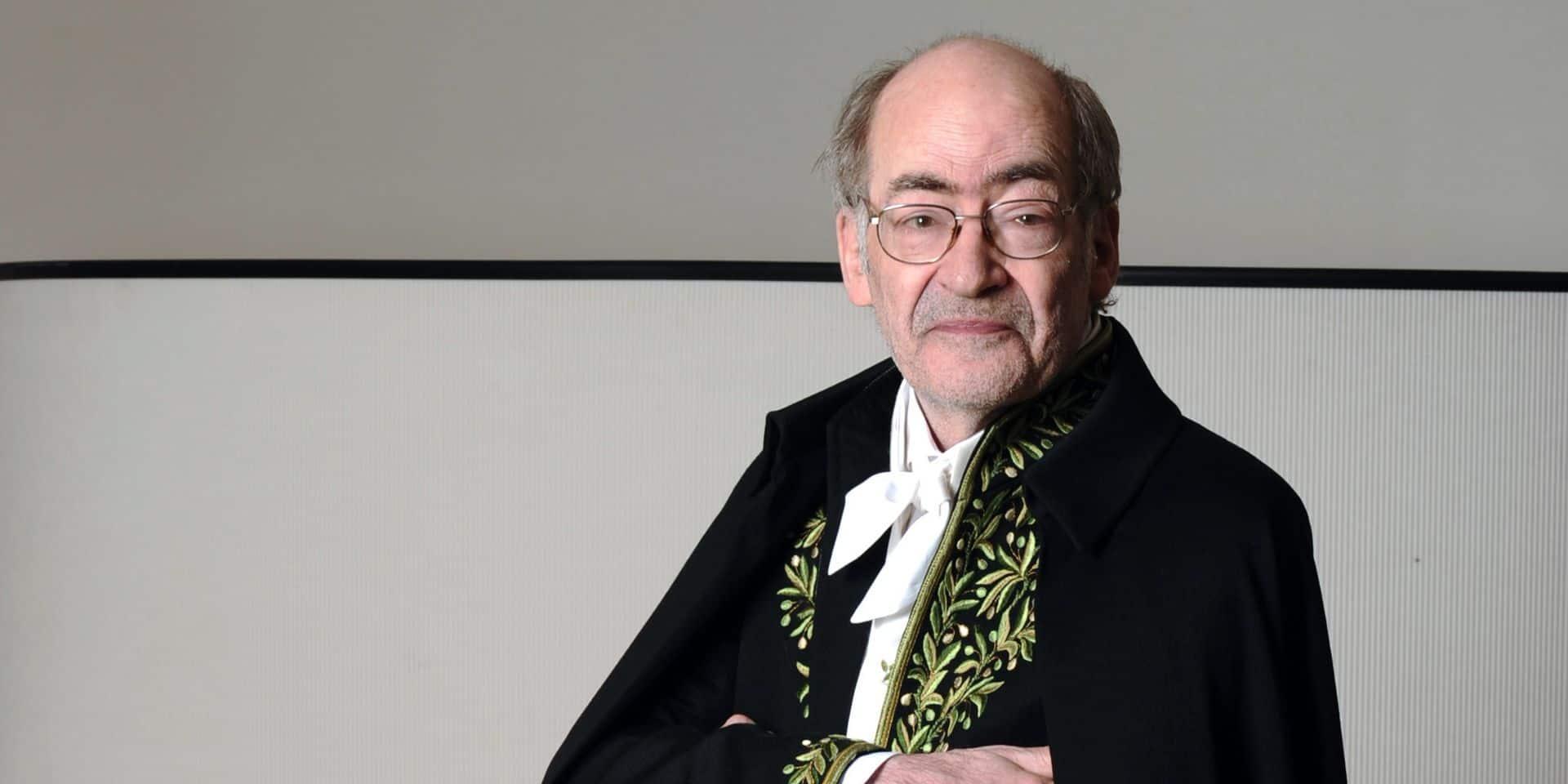 L'écrivain franco-belge François Weyergans décède à 78 ans