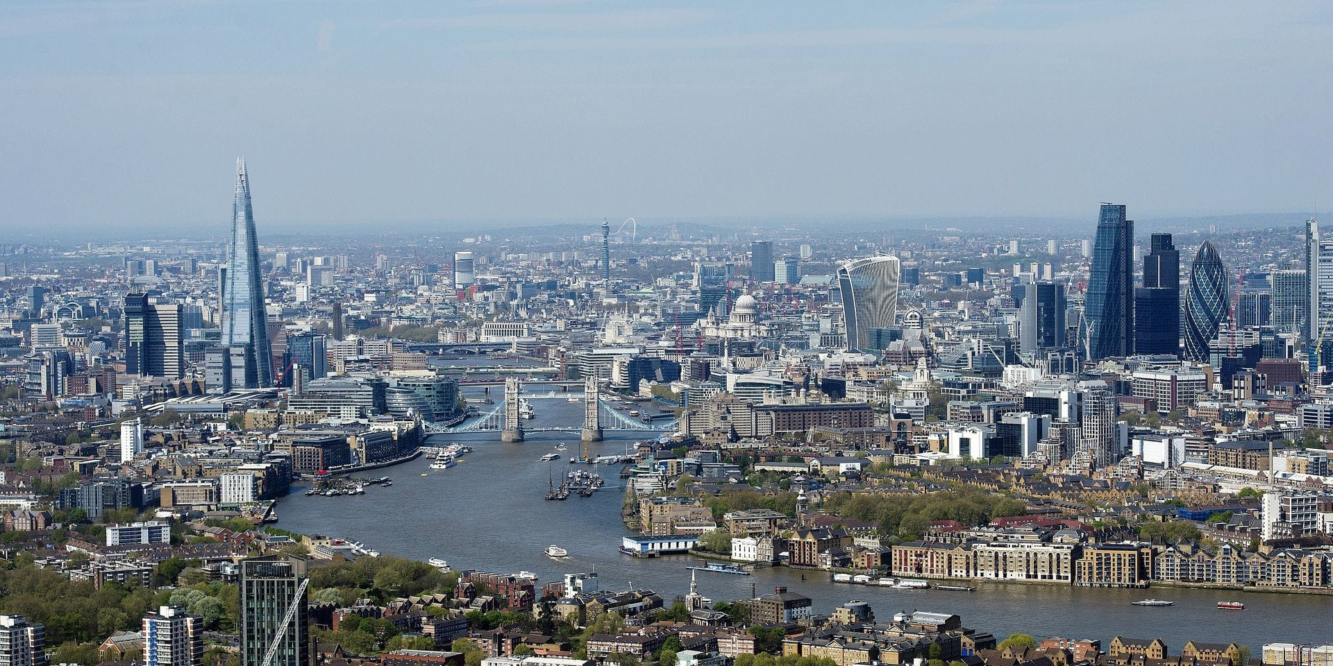 151641, Aerial photograph of The City of London including The Shard and the Gurkin. London, United Kingdom - Sunday May 8, 2016. UK, FRANCE, AUS, NZ, CHINA, HONGKONG, TAIWAN, SPAIN & ITALY OUT Photograph: © i-Images, PacificCoastNews. Los Angeles Office: +1 310.822.0419 UK Office: +44 (0) 20 7421 6000 sales@pacificcoastnews.com FEE MUST BE AGREED PRIOR TO USAGE PICTURE NOT INCLUDED IN THE CONTRACT