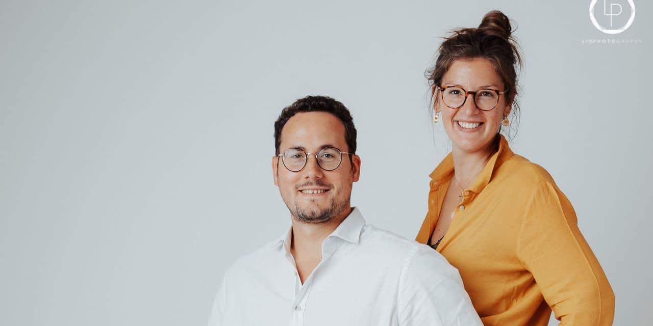 Kevin Tillier et Amandine Coutant, fondateurs
