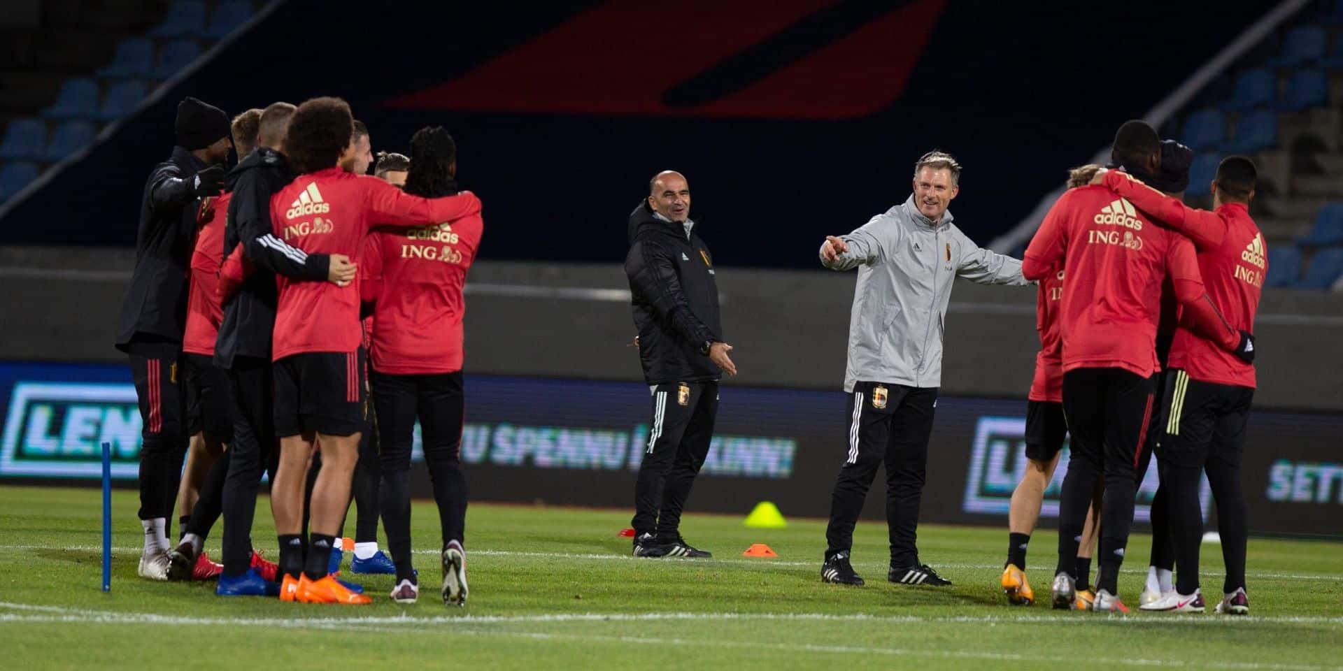 """""""Le match n'est pas en danger"""", assure Martinez avant Belgique-Islande"""
