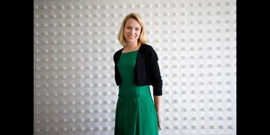 Marissa Mayer of Yahoo!