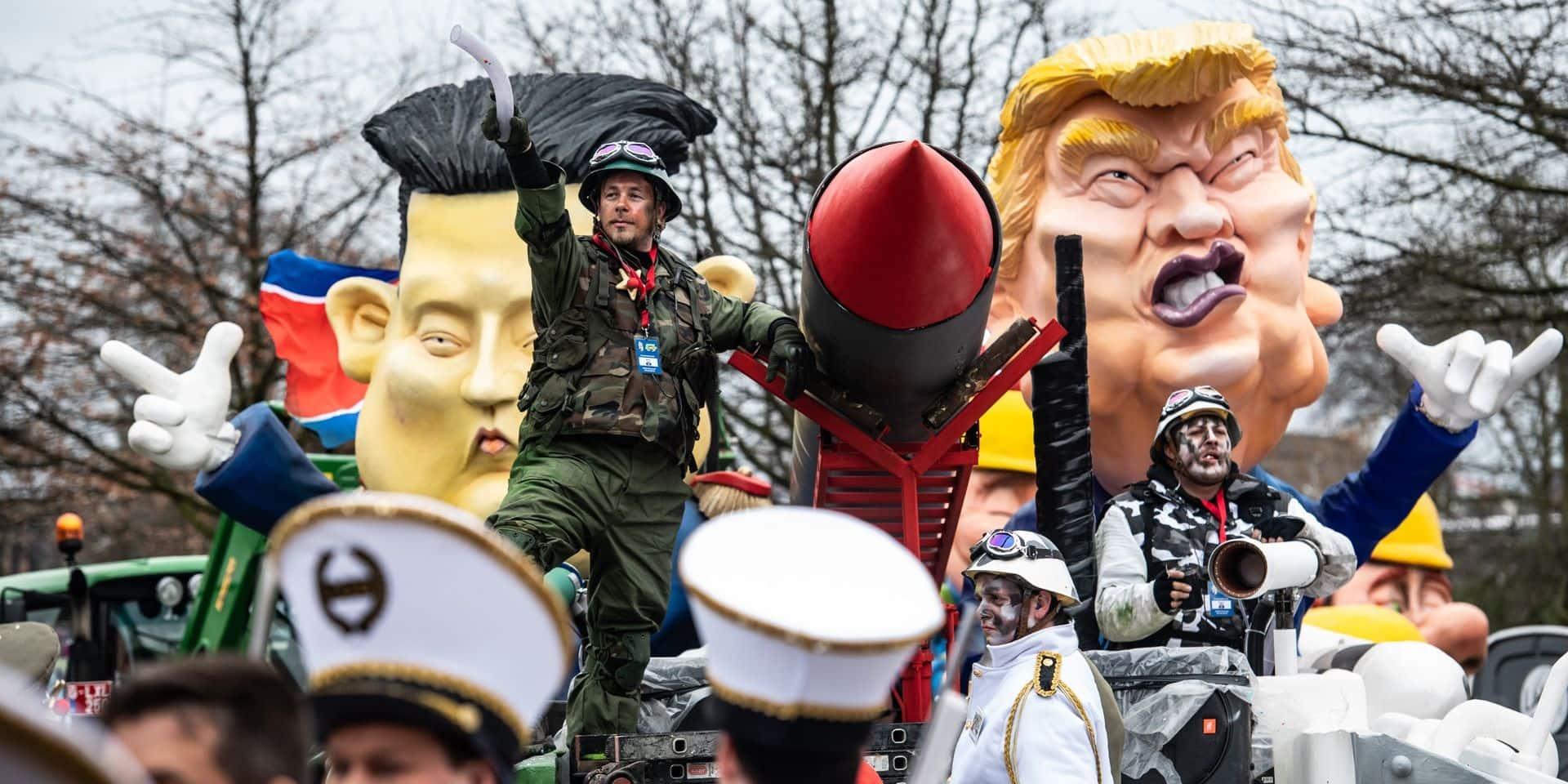 """Le ministre israélien des Affaires étrangères demande l'interdiction du carnaval d'Alost: """"La Belgique devrait avoir honte"""""""