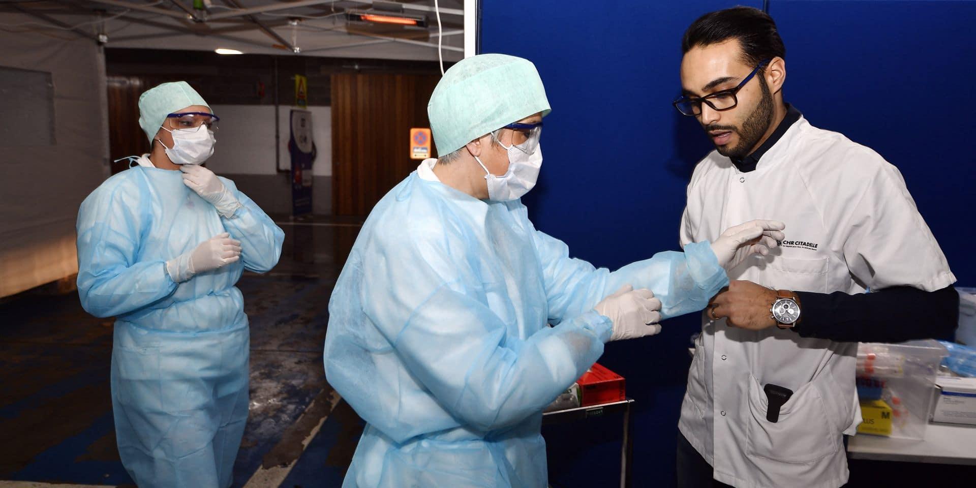 Coronavirus: le personnel soignant doit travailler même si des symptômes se déclarent