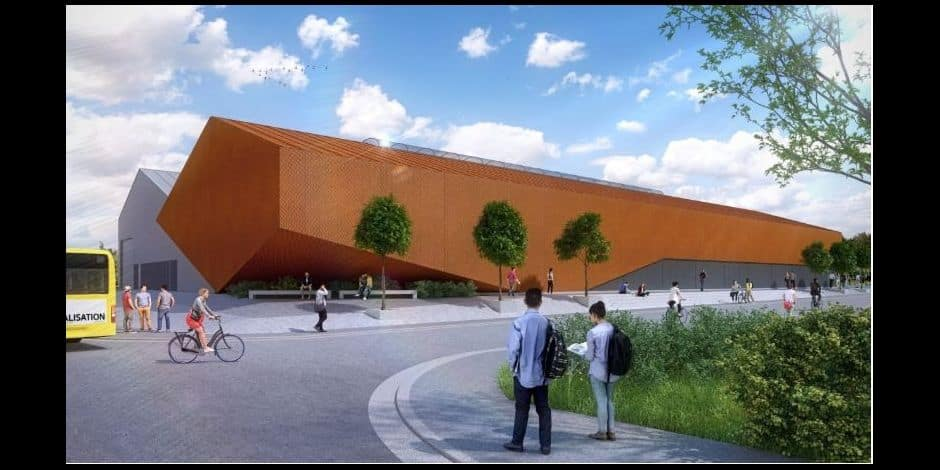 """Le """"chapi"""" à Liège va s'agrandir: une salle de guindaille toute neuve dès 2020"""