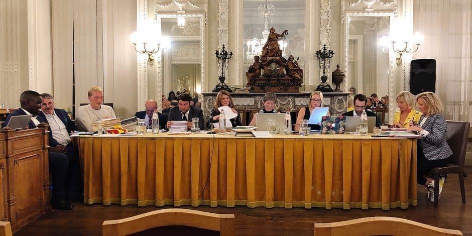 Conseil communal tendu à Verviers