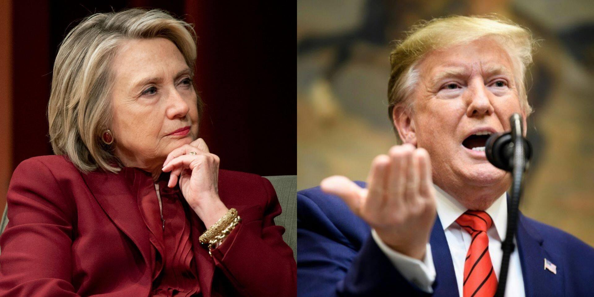 """""""Crapule"""", """"faites votre boulot"""": le ton monte entre Hillary Clinton et Donald Trump"""
