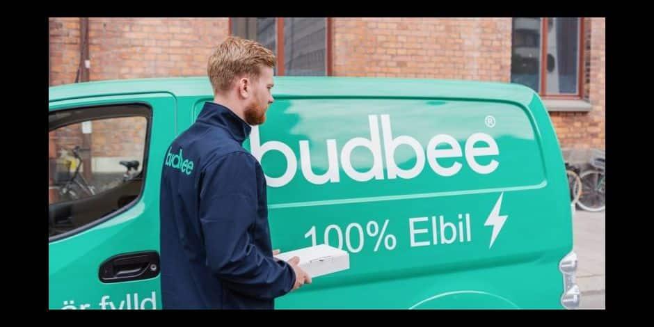 L'entreprise de livraison Budbee annonce sa venue en Belgique