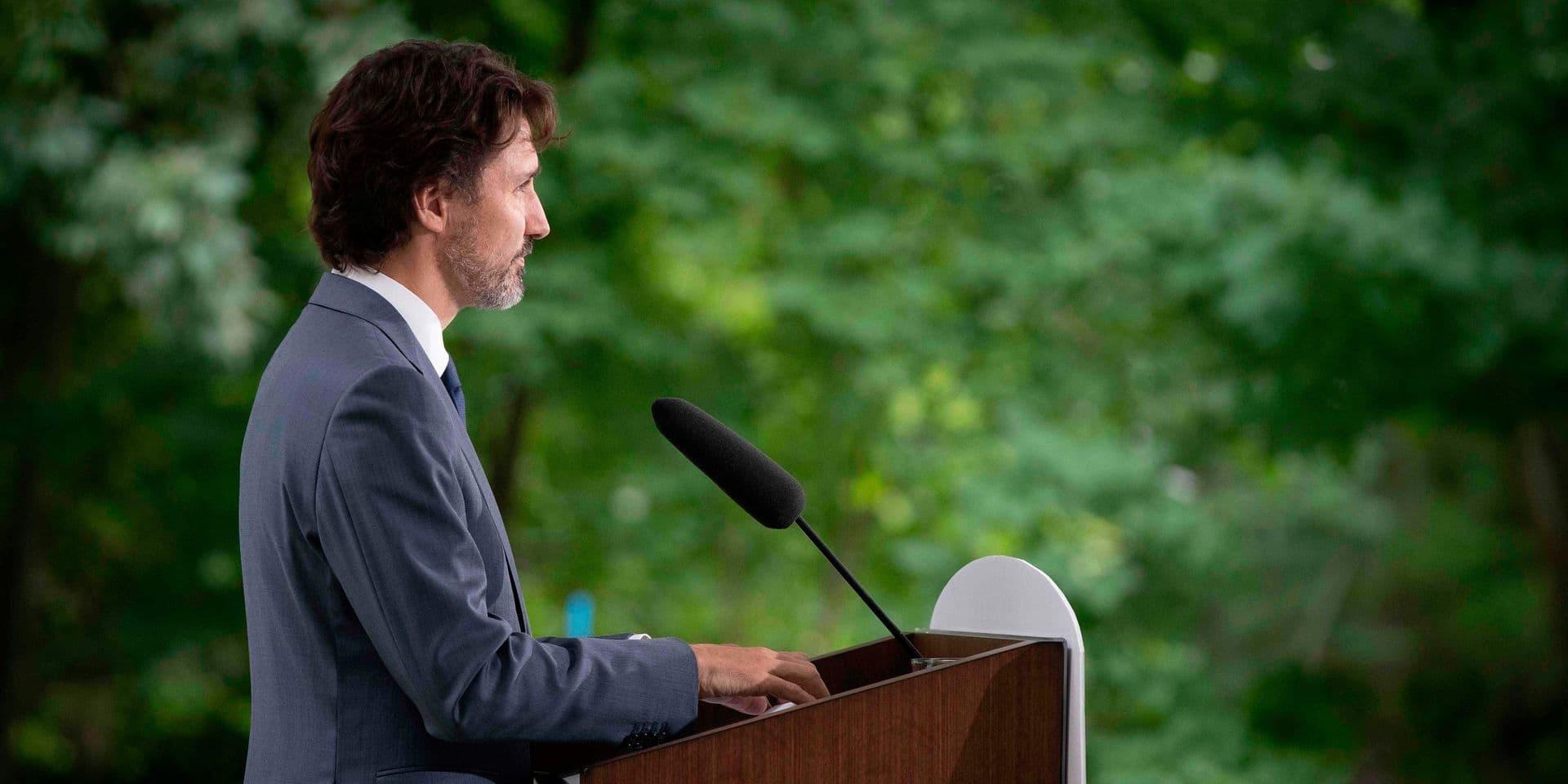 """Justin Trudeau au coeur d'une nouvelle tempête politique : """"Il est impossible que le Premier ministre continue à exercer sa fonction"""""""