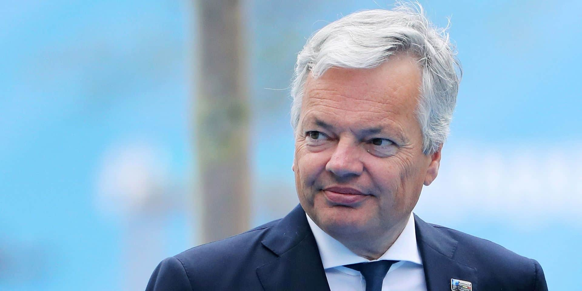 Reynders maintient l'option d'un tribunal international en Irak pour les 50 djihadistes belges