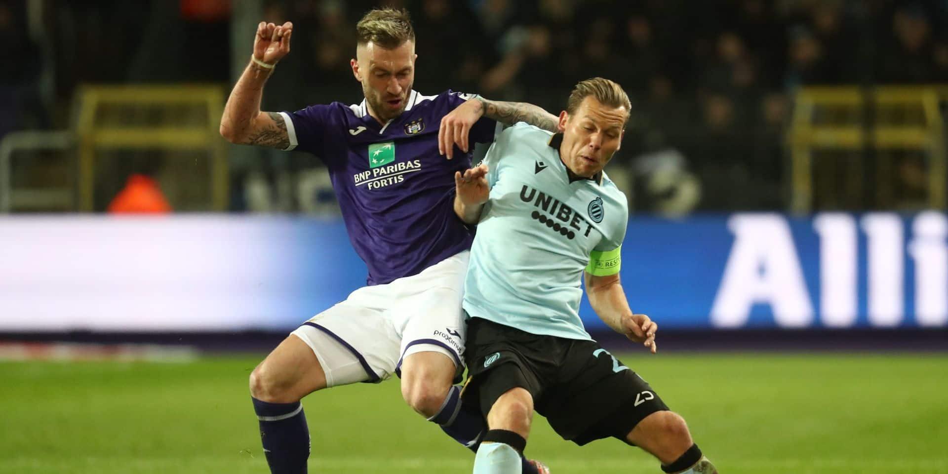 Anderlecht-Bruges en stats: les Mauves trop gentils et trop inconstants
