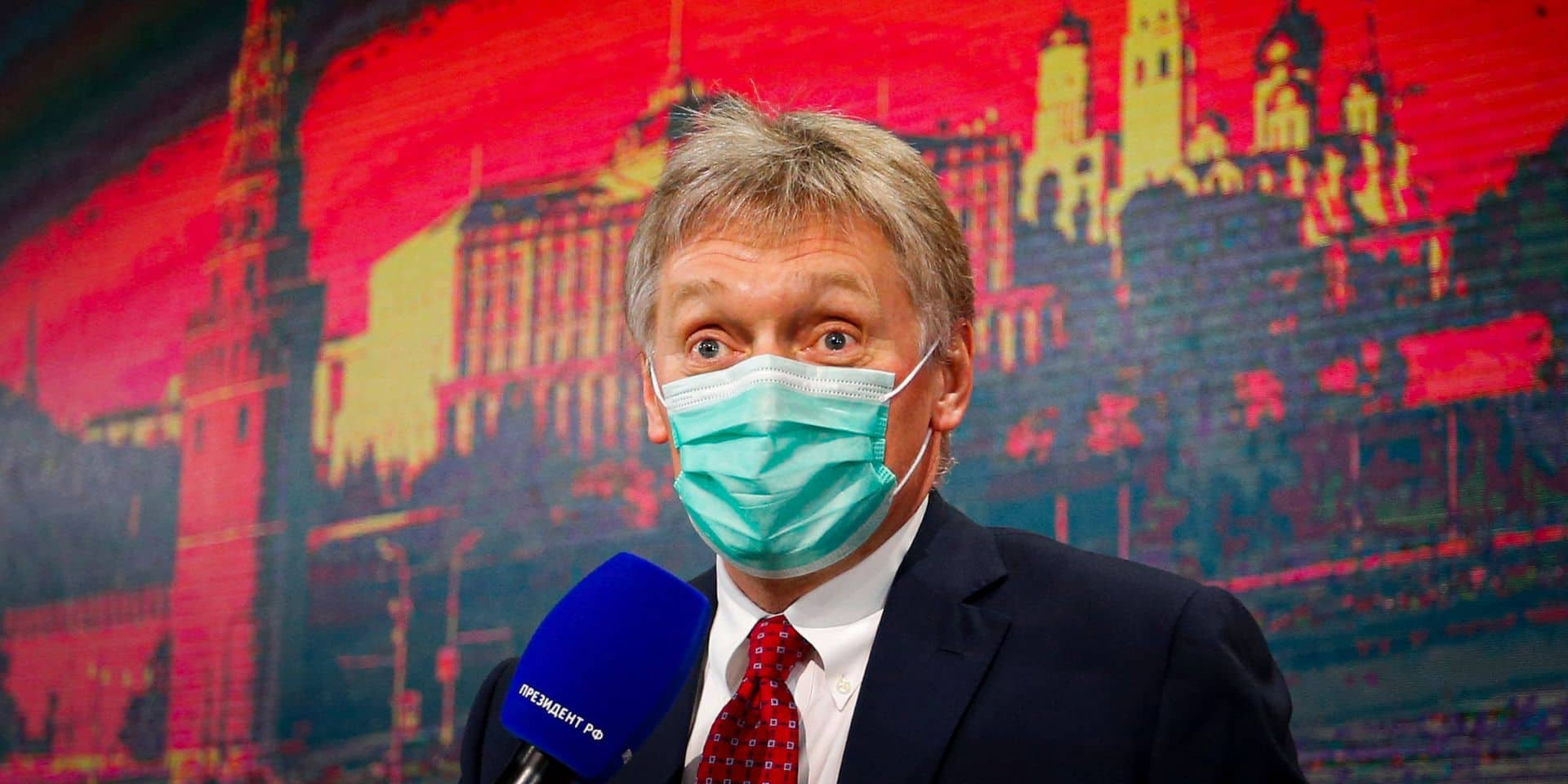 Dmitry Peskov, le porte-parole du Kremlin.