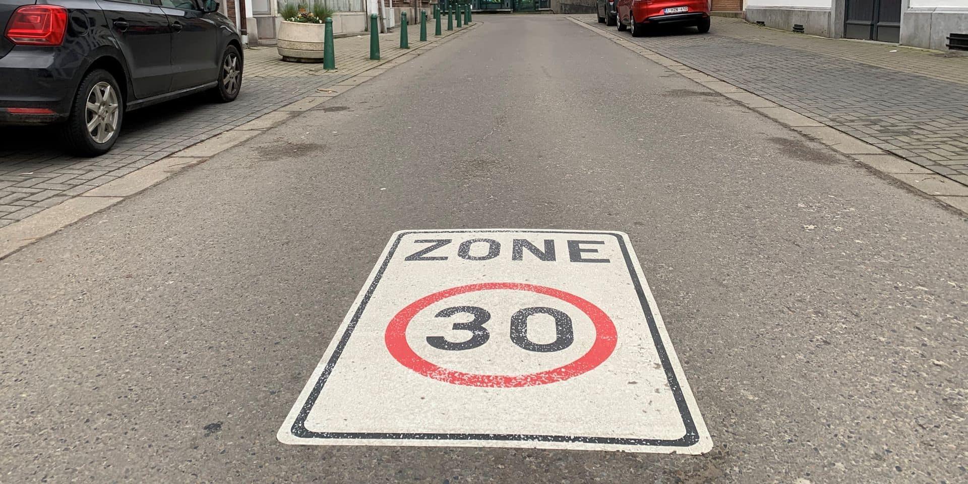 La zone 30 km/h prolongée dans le centre-ville de Genappe