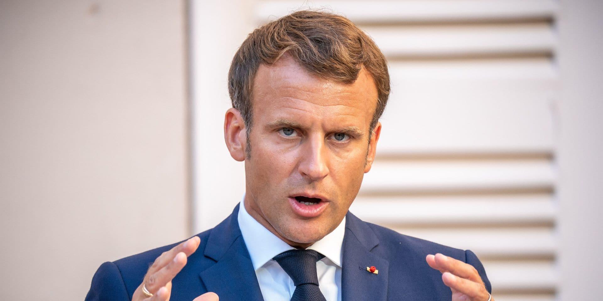 Évolution du virus, distribution gratuite de masques, contrôles: Macron fait le point sur l'épidémie avec ses ministres à l'approche de la rentrée