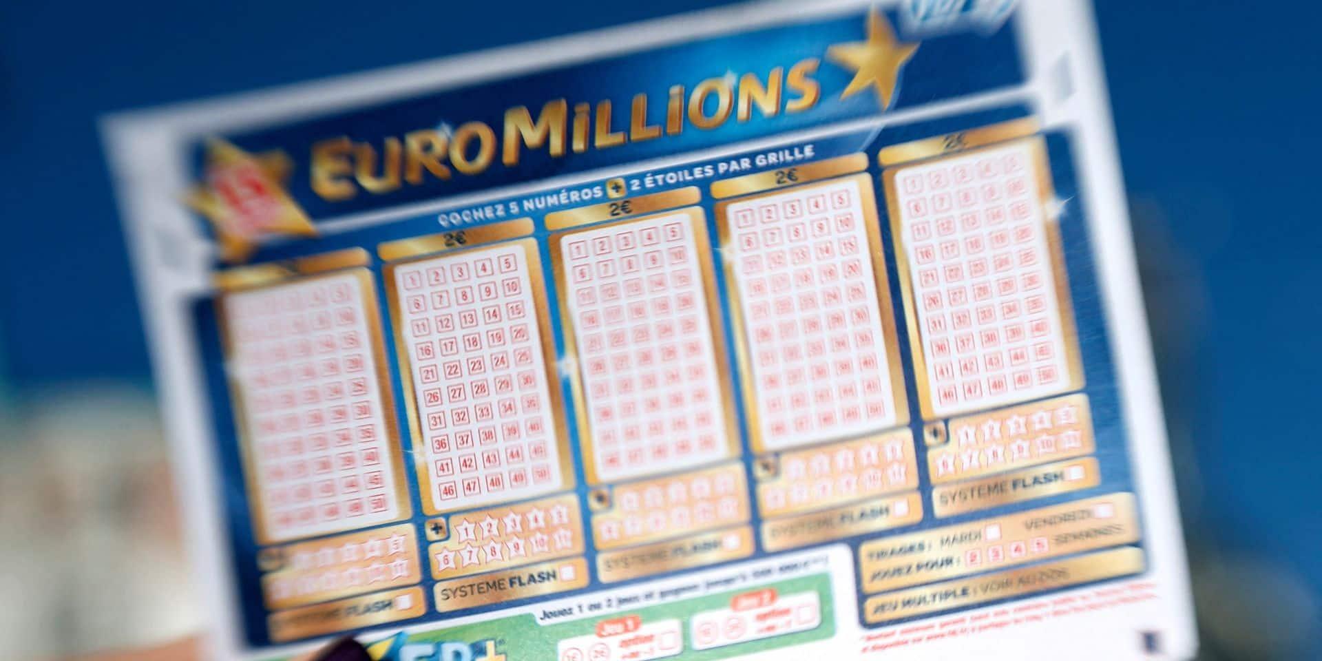 EuroMillions: un joueur remporte le jackpot historique de 210 millions d'euros
