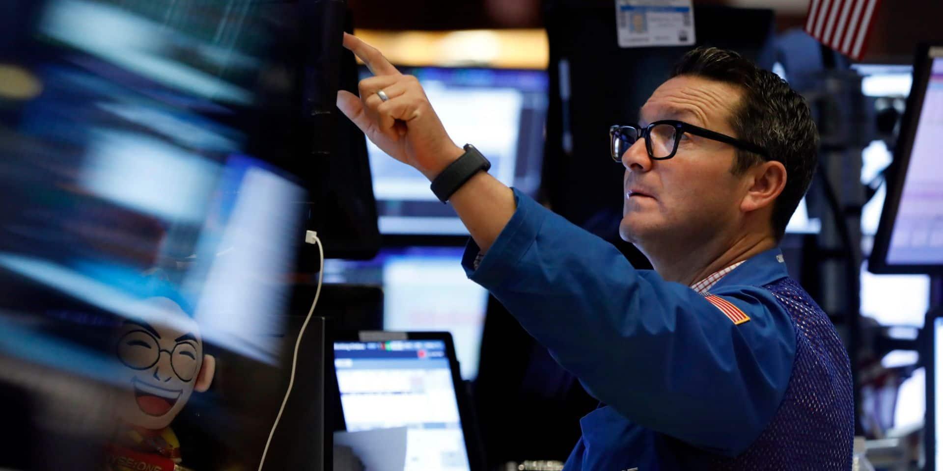 Wall Street flambe au lendemain d'une séance noire