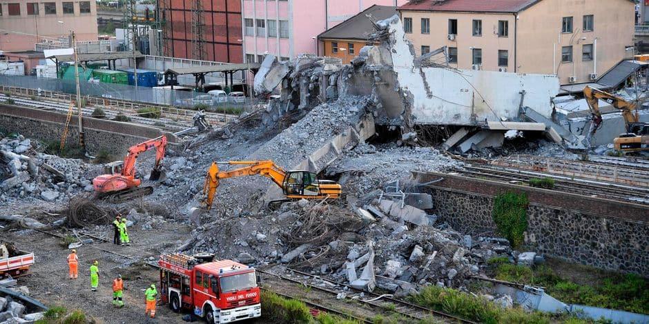 Edito: quelques retards à cause des travaux ne sont rien à côté du bilan désastreux de Gênes - La Libre