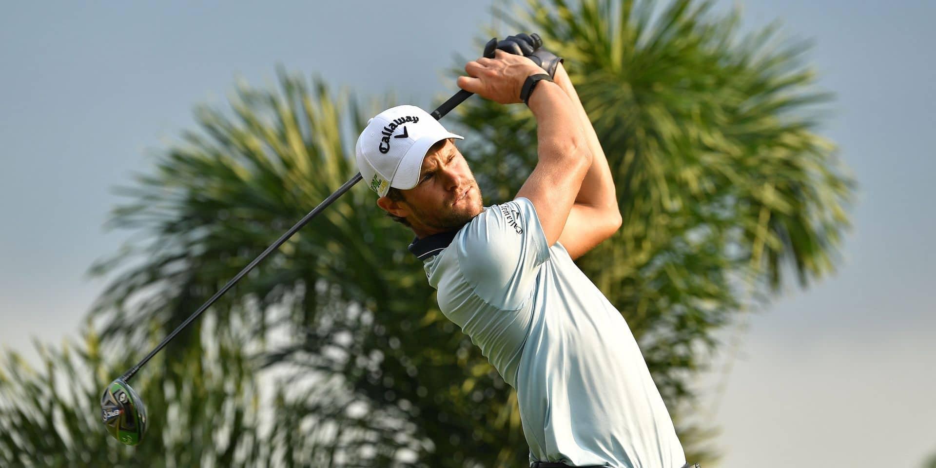 PGA: Thomas Detry occupe la 17e place après le premier tour au Corales Championship