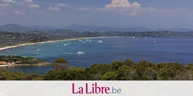 Des plages du Var fermées au public — Pollution au pétrole