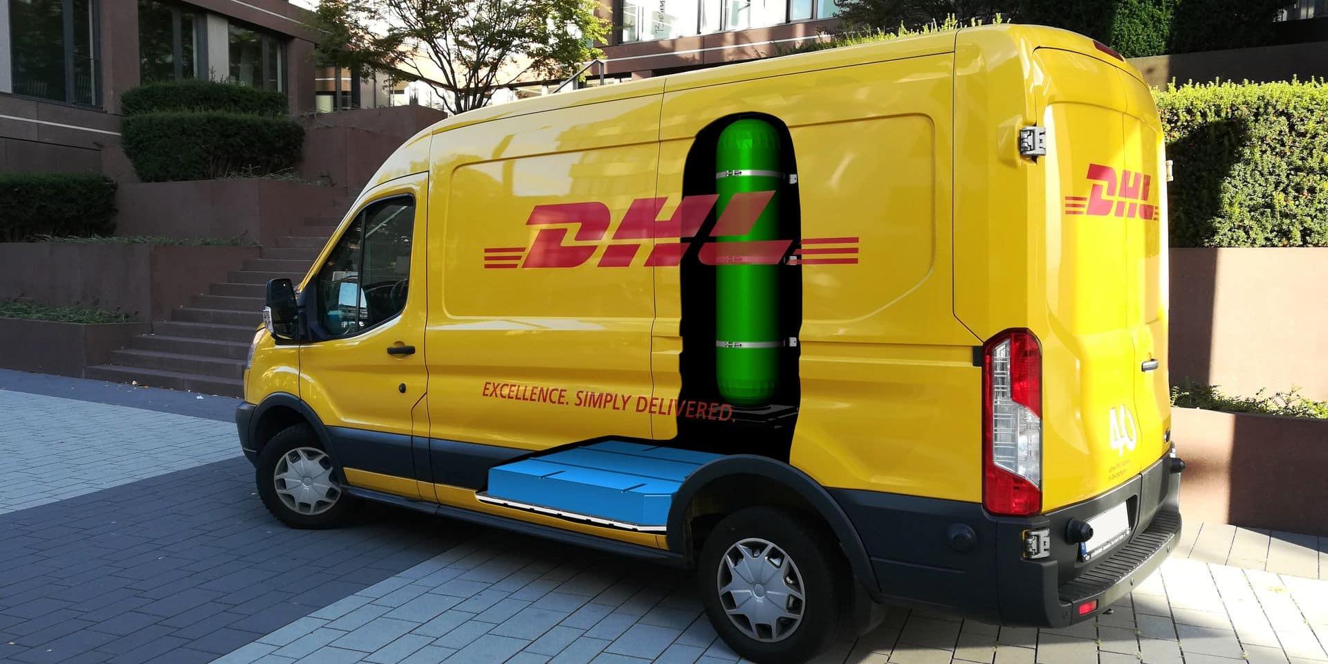 DHL Express teste la camionnette électrique en Belgique