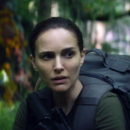RELEASE DATE: February 23, 2018. TITLE: Annihilation. STUDIO: Paramount Pictures. DIRECTOR: Alex Garland. PLOT: A biologist signs up for a dangerous, secret expedition where the laws of nature don't apply. STARRING: NATALIE PORTMAN as Lena. (Credit Image: � Paramount Pictures/Entertainment Pictures/ZUMAPRESS.com) Reporters / Zuma
