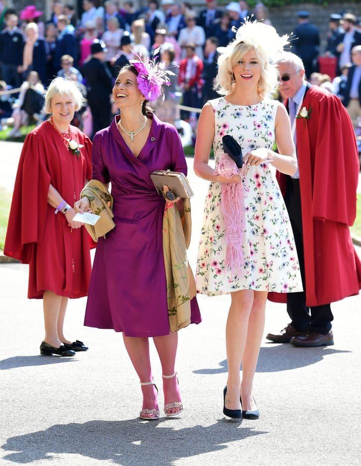 La chanteuse Joss Stone, amie du prince Harry, est venue.