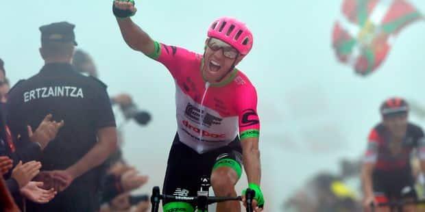 Vuelta: Woods gagne au sommet devant Teuns, Yates leader bousculé - La Libre