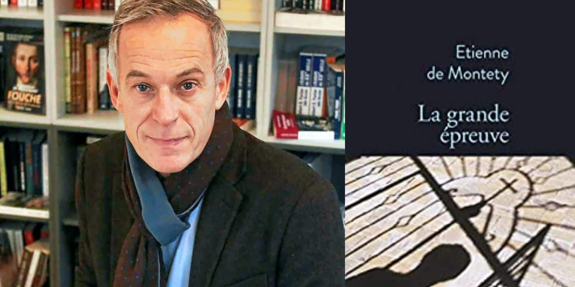 """""""La Grande Épreuve"""": Étienne de Montety reçoit le Grand prix du roman de l'Académie française"""
