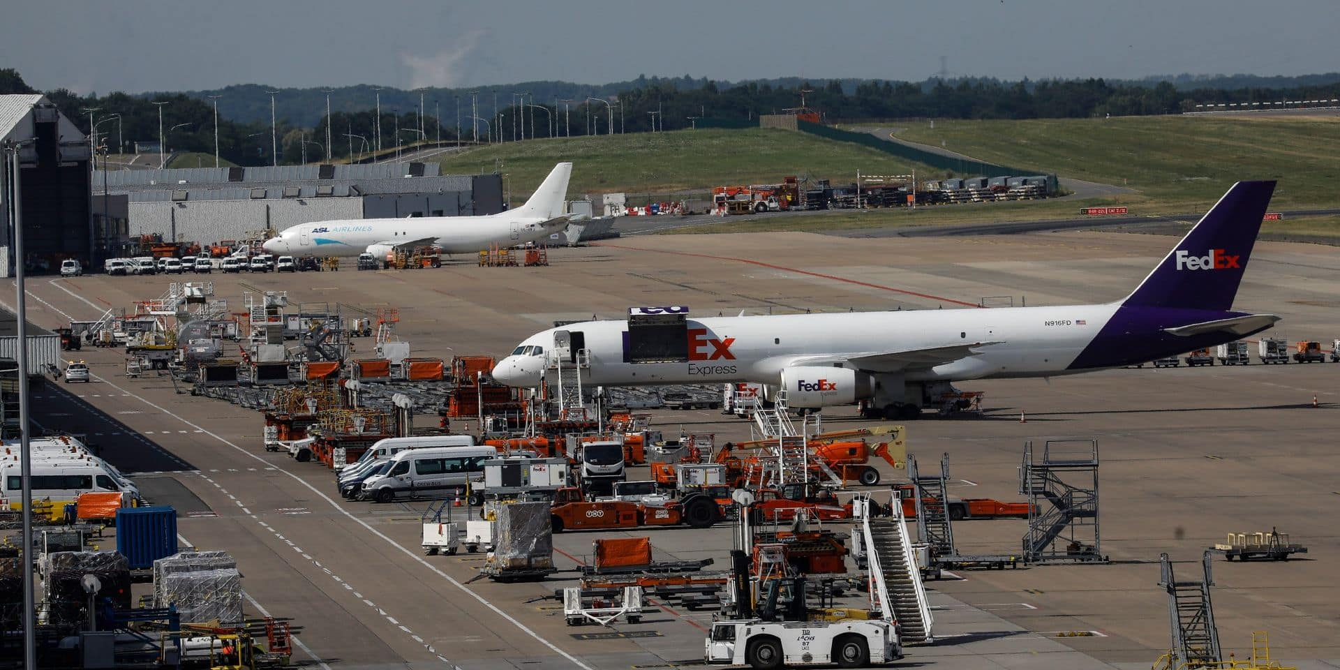 L'aéroport de Liège tourne à plein régime et envisage d'accueillir des travailleurs en chômage temporaire de BSCA