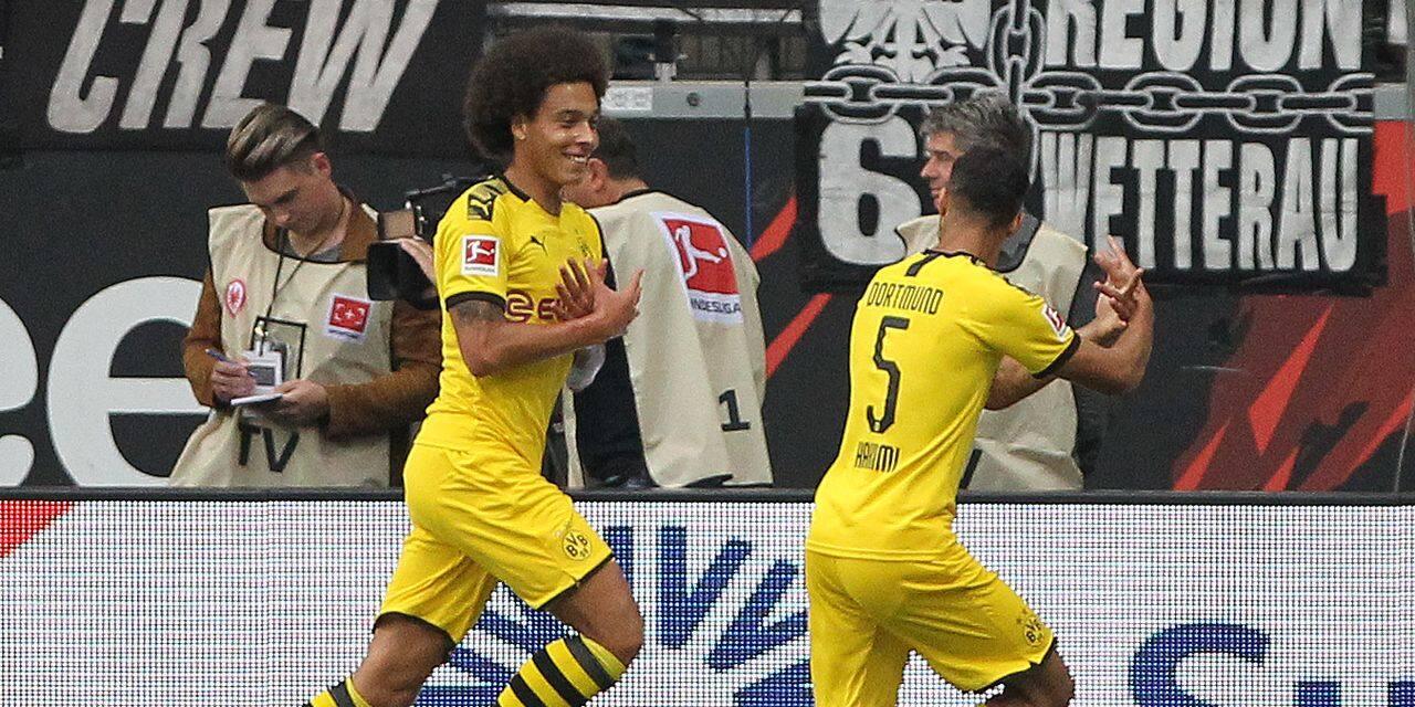 Le but sensationnel de Witsel sur un assist de... Thorgan Hazard! (VIDEO)