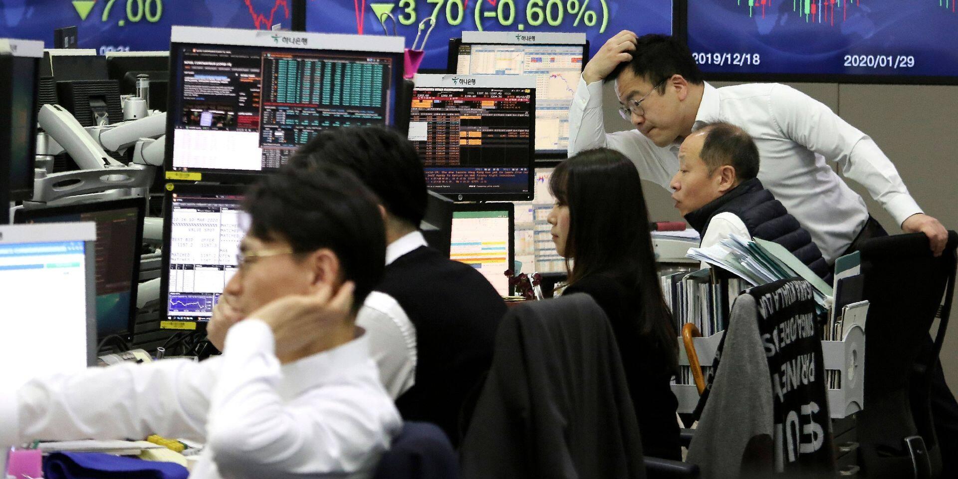 Les Bourses asiatiques limitent la casse, les cours du pétrole remontent