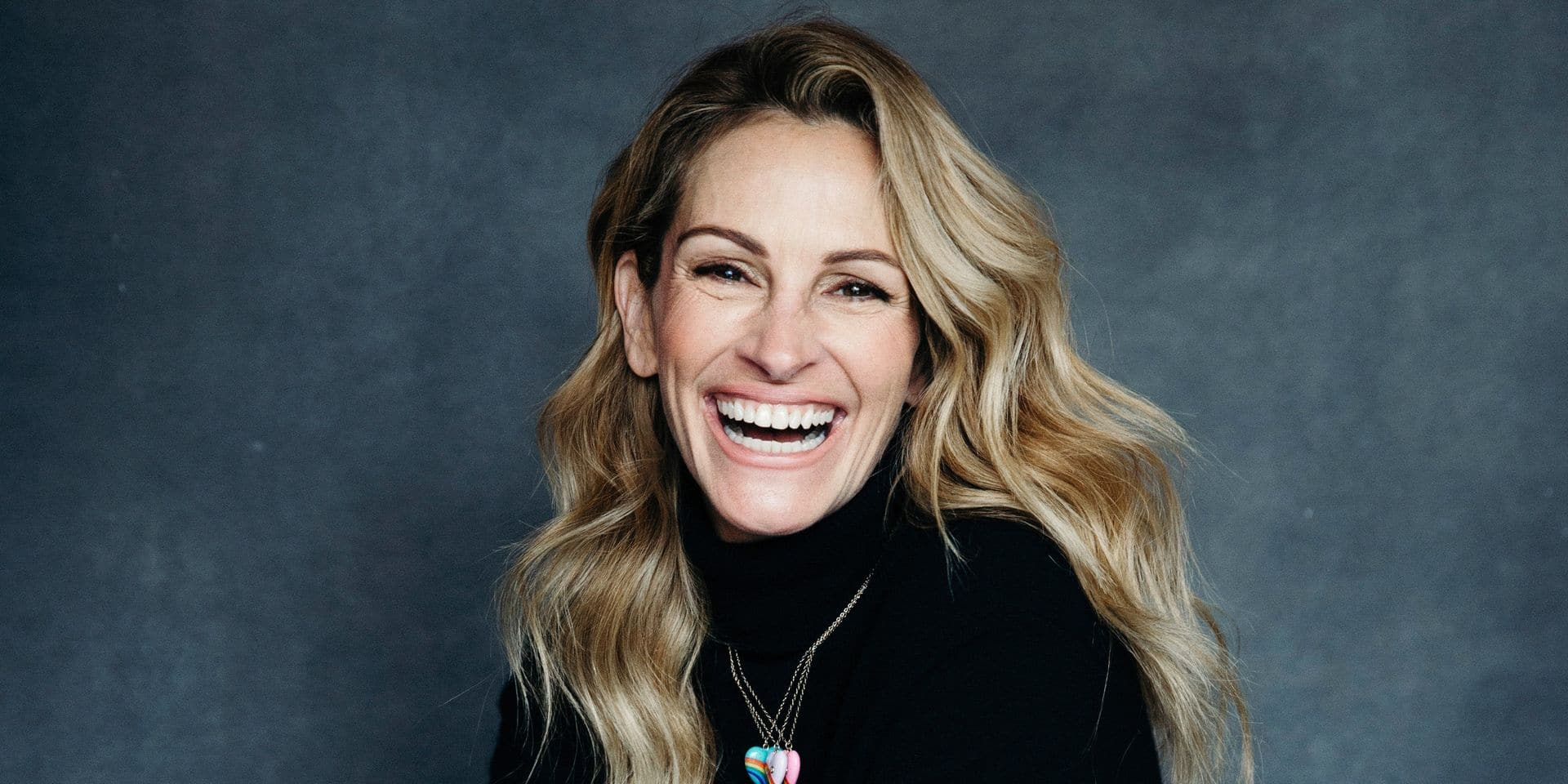 "In this Dec. 3, 2018 photo, actress Julia Roberts poses for a portrait in New York to promote her film, ""Ben is Back."" (Photo by Victoria Will/ Invision/AP)"