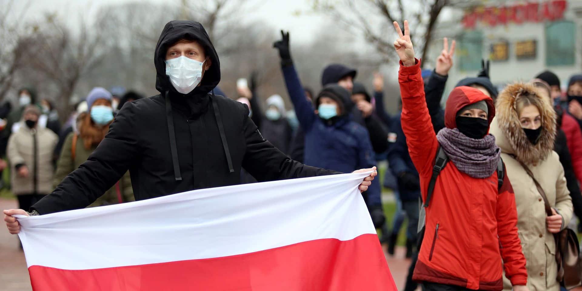 """En Biélorussie, la répression s'accentue contre l'opposition : """"Il faut trouver d'autres moyens de mobiliser"""""""