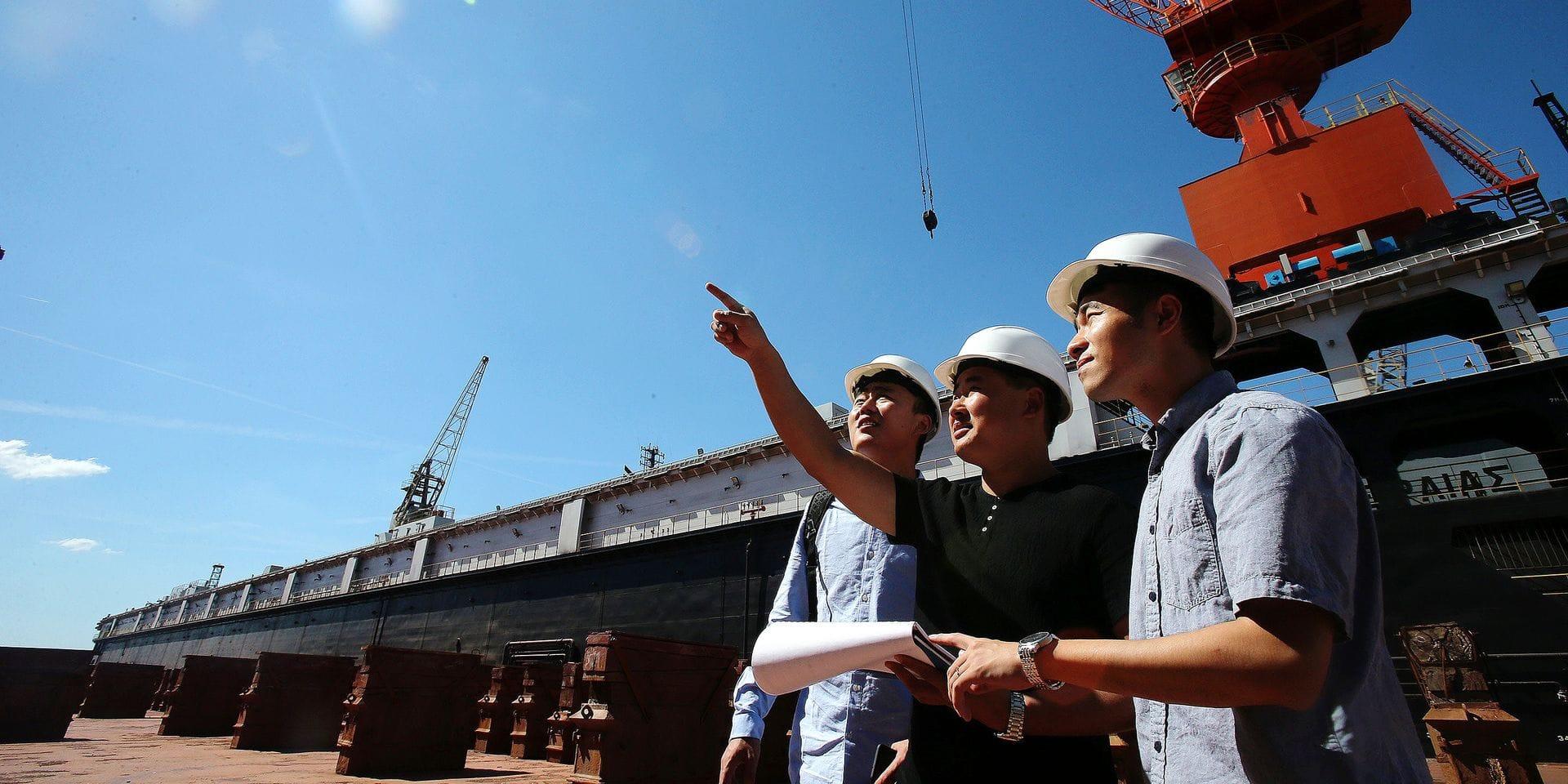 GREECE-PERAMA-CHINA COSCO SHIPPING-PIRAEUS PORT