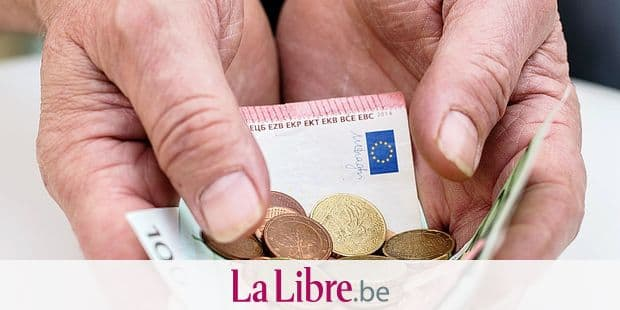 Belgium , Brussels , Nov 02 , 2017 - pension - senior - retirement - euro - economy - epargne retraite Copyright Heline Vanbeselaere / Reporters Reporters / STG