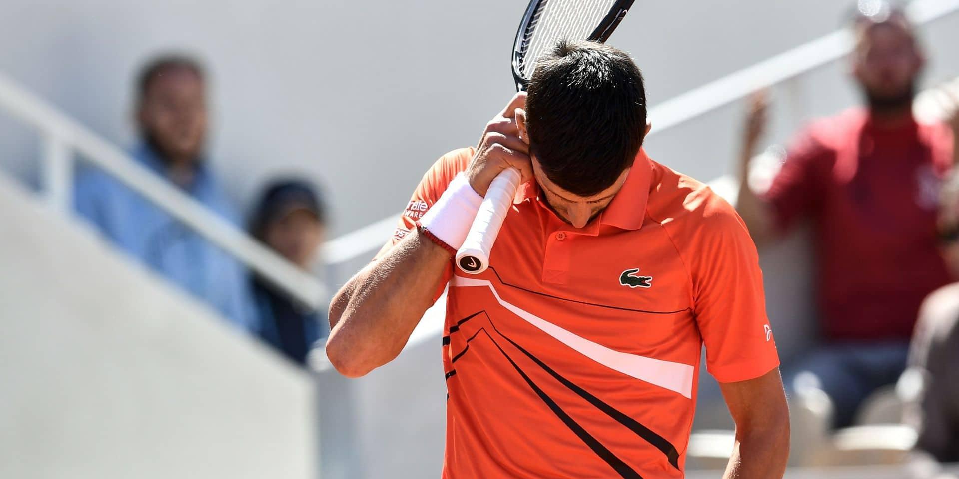 """Djokovic après sa défaite: """"Sans doute les pires conditions que j'ai jamais connues"""""""