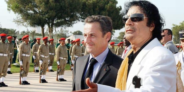 """Les relations très financières entre Sarkozy et Kadhafi dans le viseur de """"Cash Investigation"""" - La Libre"""