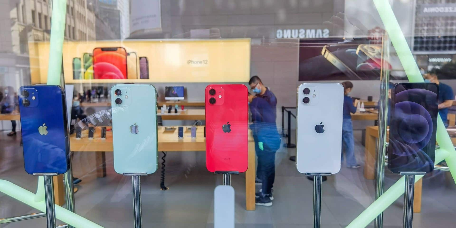 Apple redevient numéro un mondial des ventes de smartphones